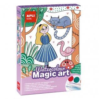 JUEGO EDUC.APLI WATERCOLOUR MAGIC ART