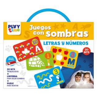 Libreta Educativa Playtime Juego sombras Letras y números