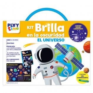 Libreta Educativa Playtime Kit brilla oscuridad Universo