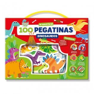 Juego Educativo Playtime Malétín pegatinas dinosaurios
