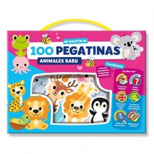 Juego Educativo Playtime Maletín pegatinas animales baby
