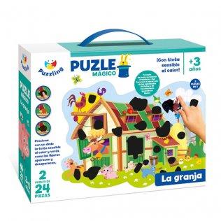 Juego Educativo Puzzle Mágico La Granja