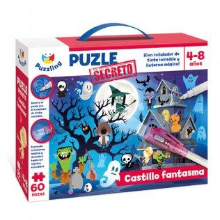 Juego Educativo Puzzle Secreto: Castillo Fantasma