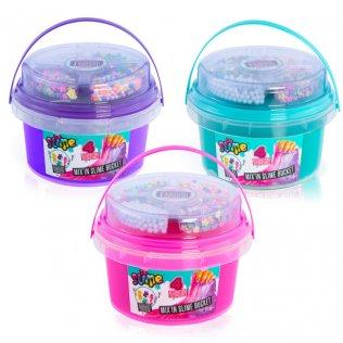 Set de manualidades Slime Bucket con decoraciones