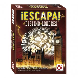 Juego Educativo Mercurio - Escapa: el destino de Londres