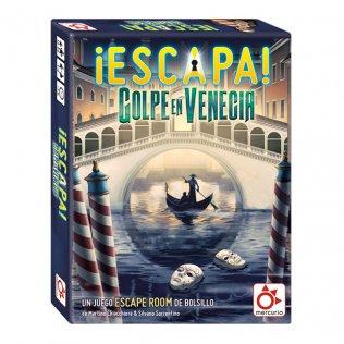 Juego Educativo Mercurio - Escapa: golpe en Venecia