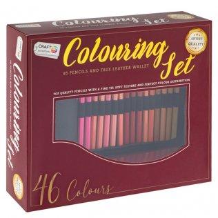 Lápices de colores RMS Roller set 46 ud
