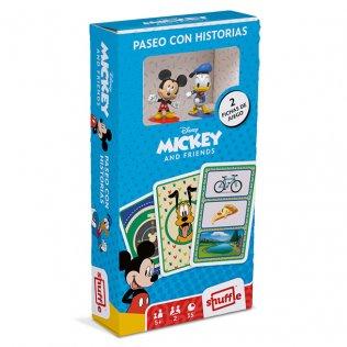 Baraja Infantil Mickey + Figuras