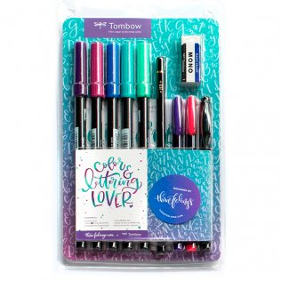 Set color & lettering Tombow Lover