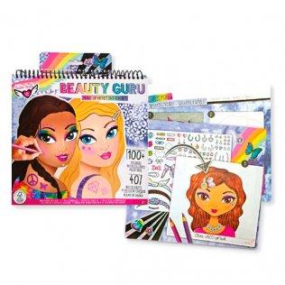 Juego educativo Crayola álbum para colorear Maquillaje de Estrellas