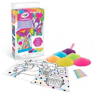 Juego educativo Crayola Creations set posters arena colores