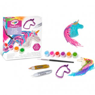 Juego educativo Crayola Creations set unicornios