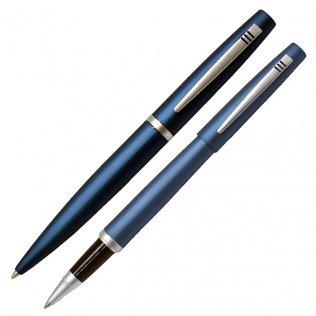 Juego Bolígrafo y Roller Swing Azul