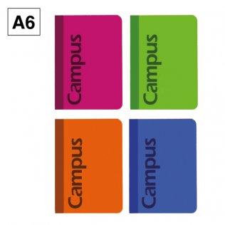 Libreta de bolsillo Campus A6 tapa básica 70g 40h rayado horizontal