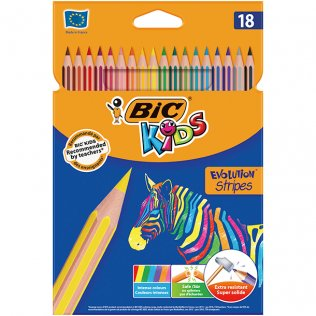 Lápices de colores Tropicolor Estuche 18 uds