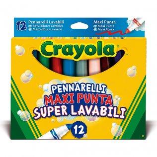 Rotulador Crayola Maxi Punta 12 colores