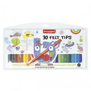 Estuche rotuladores Talens 30 colores