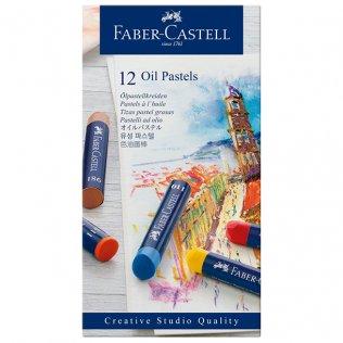 Pasteles blandos Faber Castell 12 colores