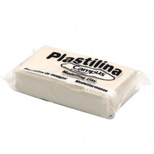 Plastilina Campus College 60gr blanco Caja 24 barras