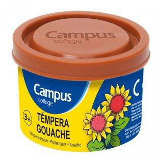 Témpera Campus College 40gr. Marrón