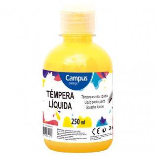 Témpera Campus College amarillo 250gr