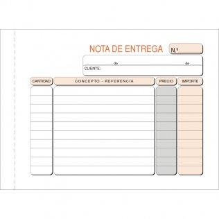 Talonario entregas 153x109mm original 100 hojas Plus Office