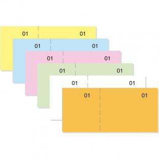 Talonarios caja T-29 verde 100x50mm 100 hojas Makro Paper