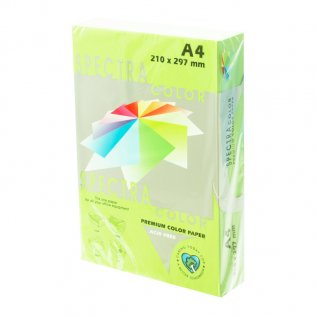 Papel A4 Verde claro 80g 500 hojas Campus