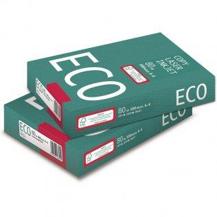 Papel blanco ECO A4 80g 500 hojas