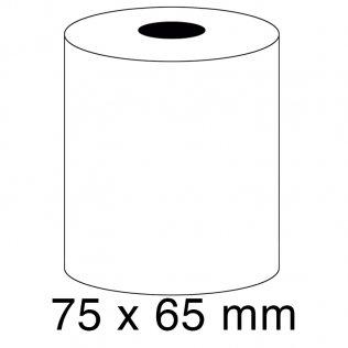Rollo papel sumadora 1 copia 57g 75x65mm