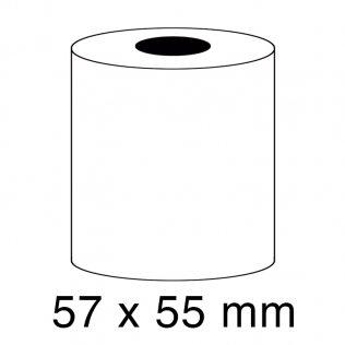 Rollo papel sumadora térmico 55g 57x55mm