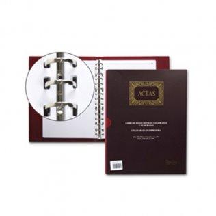 Libro de actas (recambiable) A4 100 hojas Miquel Rius
