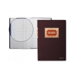Libro contable - diario doble 220x312mm 100 hojas Miquel