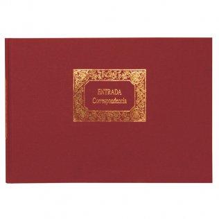 Libro contable - entrada correspondencia 305x212mm 100 hojas Miquel Rius
