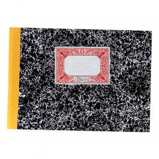 Libro cartoné cuentas corrientes 4º apaisado 215x158mm 100 hojas Miquelrius
