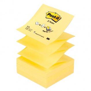 Bloc Z-notes amarillas Post-it 76x76mm 100 hojas