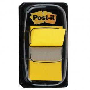 Marcapáginas Post-it amarillo 25,4x43mm dispensador 50 ud