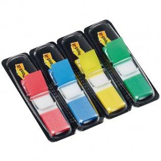 Marcapáginas Post-it 4 colores 12x43mm dispensador 140 ud