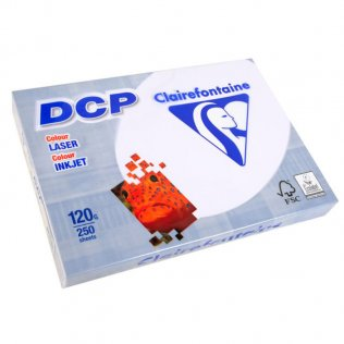 Papel DCP blanco A4 Clairefontaine 120g 250 hojas
