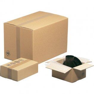 Caja para embalar americana 38x34x40cm canal simple