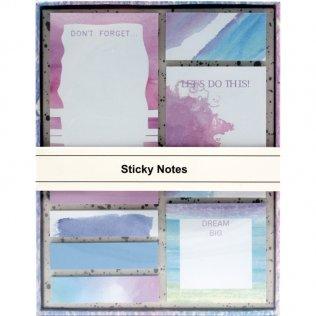 Set de escritorio Campus Watercolor notas adhesivas
