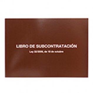 Libro subcontratación castellano/euskera Fº 10 hojas Miquelrius