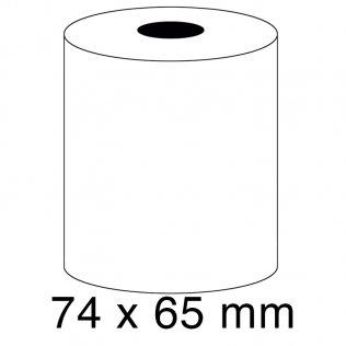Rollo papel sumadora 60g 74x65mm