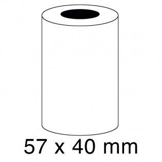Rollo papel sumadora térmico 55g 57x40mm