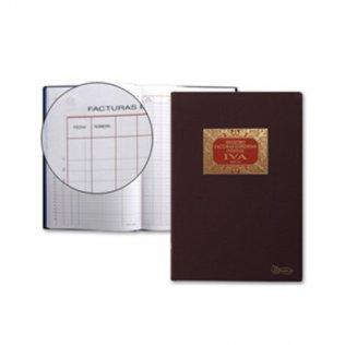 Libro contable - facturas emitidas 220x312mm 100 hojas Miquel