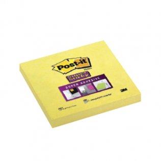 Bloc notas amarillas Post-it 76x76mm 90 hojas