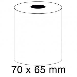 Rollo papel sumadora 1 copia 57g 70x65mm
