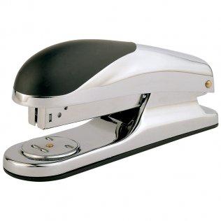 Grapadora de sobremesa Plus Office 280 Cromado/Negro