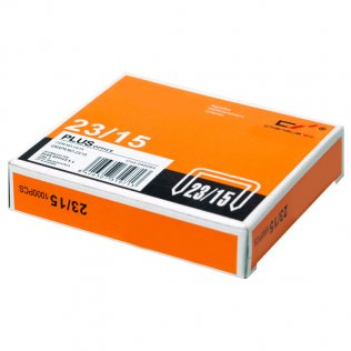 Grapas Plus Office 23/15 Galvanizadas (1000ud/caja)