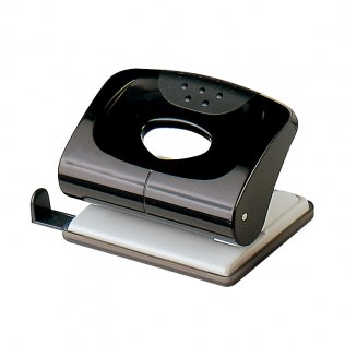 Perforador sobremesa Plus Office 170 Negro